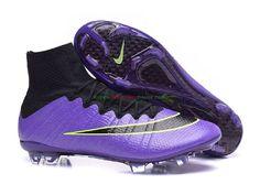Bestellen Nike Mercurial Superfly FG ACC Voetbalschoenen Purper/Volt/Zwart