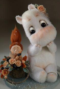 omg the cutest Moomin EVER,