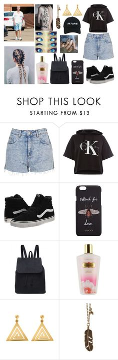 """""""It always seems impossible until it is done."""" by jblover-1fan on Polyvore featuring Justin Bieber, Topshop, Calvin Klein, Vans, Gucci, Victoria's Secret, ChloBo and Nasaseasons"""