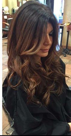 Teresa Giudice ombré hair!
