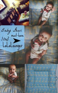 Grayson%u2019s Current Must-Have: LaLaLounger (Baby Gear Perfection!)