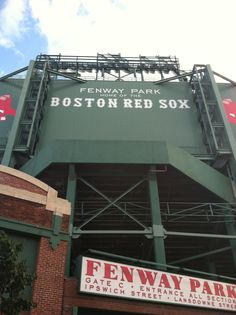 Fenway Park- Fenway Park is suited for more than baseball.    Amid the historic bricks and beams, the hopes and cheers of generations of Red Sox fans, America's Most Beloved Ballpark has exceptional event facilities - space for gatherings from 20 to 5,000.    Fenway Park is the ideal destination for any event.