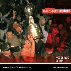 #IndependienteHistorico ¡#Independiente es campeón de América por 7ma vez en su historia!