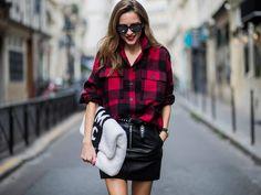 Von geknöpft bis bestickt: In diese 3 Lederröcke solltest du jetzt investieren  Minimaler Schnitt, maximaler Effekt: In diesem Herbst tragen wir am liebsten kurze Lederröcke. Auf diese drei Modelle kannst du in dieser Saison ganz besonders setzen
