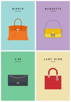 Iconic Bags Illustrations – Fubiz™