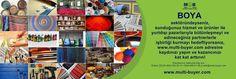 BOYA sektöründeyseniz, sunduğunuz hizmet ve ürünler ile yurtdışı pazarlarıyla bütünleşmeyi ve edineceğiniz partnerlerle işbirliği kurmayı hedefliyorsanız, www.multi-buyer.com adresine kaydınızı yapın ve kazancınızı kat kat arttırın!  A - Z 'ye tüm sektörlerin YERİNDE TİCARET yapmaları için dış ticaret alanın da getirdiğimiz yenilikleri ve hangi imkanları değerlendirebileceğinizi videomuz da izleyebilirsiniz. https://lnkd.in/dj-7SVG  İmkanlarınız hakkında bilgi için: Erdem ÇELİK 05323920314