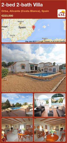 2-bed 2-bath Villa in Orba, Alicante (Costa Blanca), Spain ►€223,000 #PropertyForSaleInSpain
