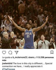 SIXERS WIN VS BLAZERS!!!EMBIID CAN FOLLOW THE LEGEND OF BIG MANS IN PHILLY WHO WON A RING IN THIS MITIC FRANCHISE. CAN EMBIID BE BETTER FOR PHILLY THAN WILT WHO WON IT IN 1967 OR MOSES MALONE AKA FO FO FO FO WHO WON THE CHAMPIONSHIP IN 1983. TRUST THE PROCESS.  LOS SIXERS GANAN A PORTLAND!EMBIID PUEDE SEGUIR LA GRAN SECUELA DE PIBOTS HISTORICOS EN PHILLY QUE GANARON EL ANILLO. PUEDE JOEL SER MAS GRANDE PARA LOS SIXERS QUE WILT QUE GANO EN 1967 O MOSES MALONE AKA FO FO FO FO QUE GANO EL…