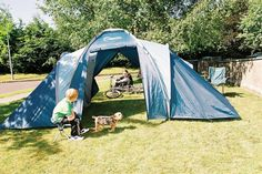 4 Person Tents - 4 Man 2 bedroom family tent suitable for family camping. O Meara Camping for Tents. Buy from our online Irish camping & tent store