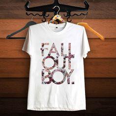 Fall out boy Shirt Rock Music T Shirt Women T Shirt by SuzanTee, $17.97