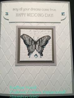Wedding Stampin Up Big News