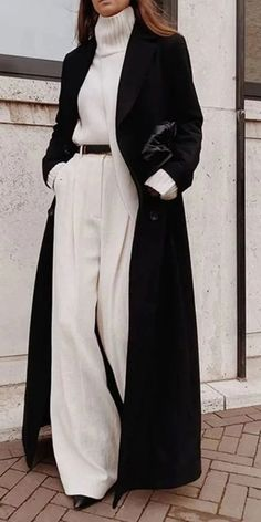 Winter Fashion Outfits, Look Fashion, Winter Outfits, Fashion Coat, Cute Casual Outfits, Chic Outfits, Casual Ootd, Looks Chic, Business Outfits