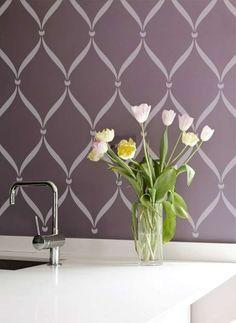 Stencil per la tua casa | Stencil per le pareti per ogni ambiente ...