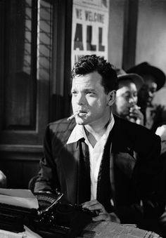 """""""I don't say we all ought to misbehave, but we ought to look as if we could.""""  Orson Welles."""