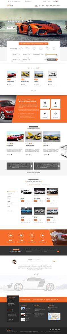Auto Club is perfect Responsive #Drupal Theme for #Car Dealer #website. Download Now!
