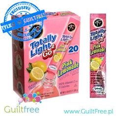 Oranżada Pink Lemonade 0kcal saszetki (0,5L)