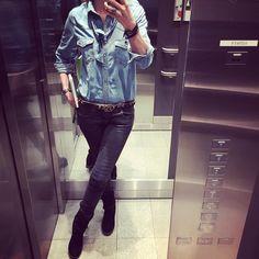 """Gefällt 36 Mal, 3 Kommentare - Bine kocht! (@bine_kocht) auf Instagram: """"#Jeans #blaumax #stefanel #pepejeans #fashion #fashionblogger #igersvienna #blackandblue #lässig…"""""""
