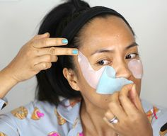 Ah, 20 minutes of meow time with the @nuvesse eye mask set for Tired Eyes, Puffiness + Dark Circles feels like a mini spa sesh. Apparently, you can even sleep in these bad boys, too! I've been testing them for two weeks, and I'm definitely seeing an improvement. #skincare #facemasks #serum #sponsored
