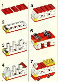 Old LEGO® Instructions | letsbuilditagain.com by belinda