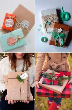 Упаковываем новогодний подарок. Подарки на новый год своими руками. Более 20 идей