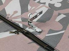 Calcador de Ziper e Vivos Ajustavel Original