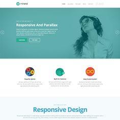 Mineral Responsive MultiPurpose WordPress Theme | WordPress Theme Download