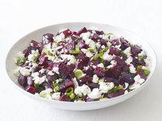 The tang of briny feta accentuates beets' natural sweetness in this vibrant side.
