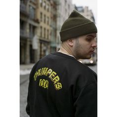 LOOK|THUMPERS CLOUD NYC CREW SWEAT