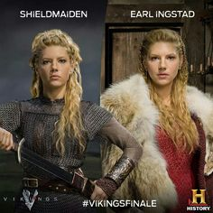 Lagertha I don't know if this can really be termed an historical show since it was always based on a legend and seems to be now leveling up to mythic in season 3.