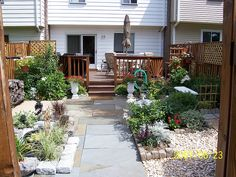 Townhouse Backyard Design Ideas, Pictures, Remodel, and ... on Townhouse Patio Ideas  id=69321