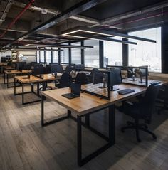 Perception Point   Tel Aviv   Office Snapshots Office Workstations, Office  Table Design, Open