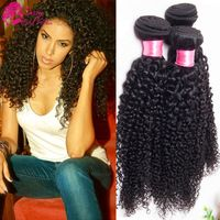 Crochet Hair Online Uk : ... Curly Weave Human Hair Bundles Kinky Curly Crochet Hair Extensions