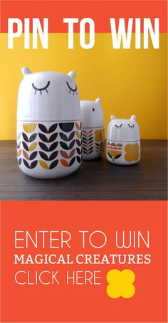 Click on the image to enter and win one of the handmade storage jars (or mugs) on this board! PIN TO WIN! TNK Camilla!