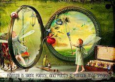 believe in magic Fairy Dust, Fairy Land, Fairy Tales, Love Fairy, Beautiful Fairies, Believe In Magic, Norman Rockwell, Illustrations, Faeries