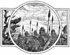 Illustrations for The Hobbit, by David Wyatt - Album on Imgur