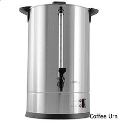 Coffee Urn - fantastic collection. Must check out...