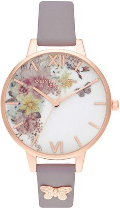 Signature Florals have become synonymous with the Olivia Burton brand. Featuring anemones, Signature Floral Dusty Pink and Rose Gold Watch Olivia Burton Rose Jewelry, Butterfly Jewelry, Jewelry Accessories, Heart Jewelry, Rose Watch, Watch 2, Schmuck Online Shop, Cute Watches, Trendy Watches