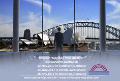 visum australien #visum #australien Australia Migration, Live Your Life, Sydney Harbour Bridge, Explore, Travel, Things To Do, Viajes, Destinations, Traveling
