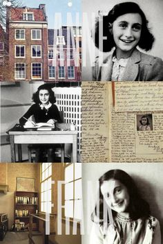 """awesomeladiesofhistory: """" Anne Frank (1929-1945) Anne Frank was a Jewish girl who became famous after she died for the diary she wrote during the Second World War. Anne was born in Germany, but in..."""