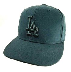 2c0eb9a4ab0 Details about LA DODGERS NEW ERA 59fifty HAT Genuine Fitted MLB Baseball CAP  Size 7