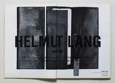 「helmut lang brochure」的圖片搜尋結果