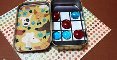 Need Altoids Tin Projects? Make a Tic-tac-toe Travel Game!