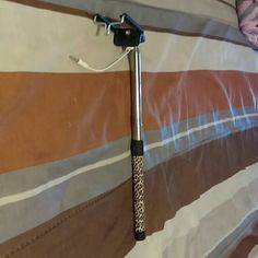 Cheetah selfie stick Brand new , brought but never used. Accessories