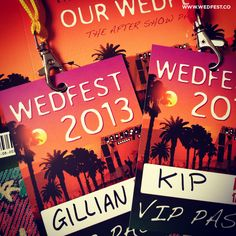 coachella themed wedding invites wedding vip lanyards