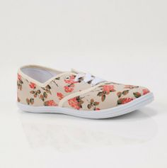 Rose Canvas Shoes