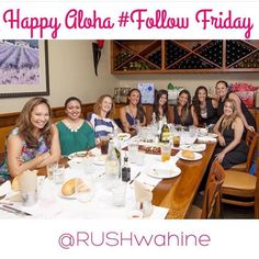 Happy #aloha Friday from 76 degree  #Hawaii  Expanding our circles & jumping on the #followfriday ride.  TAG a powerful woman you adore and FOLLOW a new one.  #RUSHwahine #womenempowerment #followfriday #connect #love #girlsquad #tagaloha #alohafriday
