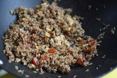 Brown Fried Rice - A great side dish for stir fries and Asian inspired dishes.