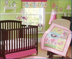 87.00$  Know more  - Promotion! 7PCS embroidery Baby crib bedding sets ,include(bumper+duvet+bed cover+bed skirt)