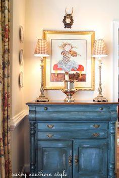 Annie Sloan Aubusson Blue  Love it!!