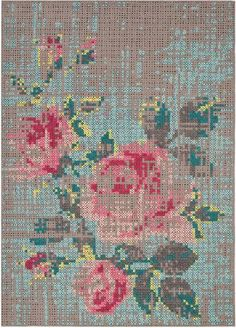 carpet Flowers Charlotte Lancelot